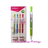 Mekanik Pensil Linko 2,0mm Bodi Segitiga Isi 12 Buah