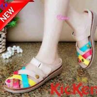 Sepatu Sandal Kickers C223 Replika / Sandal Wanita / Sepatu Wanita