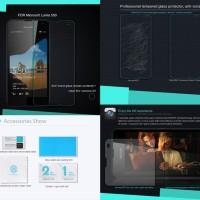 AntiGores Kaca Microsoft Lumia 550 Nillkin Anti-Explosion H Glass
