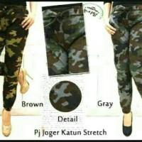 Jual Jogger pant army wanita / joger pant doreng / celana jogger Murah