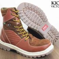 Sepatu Kickes Victor Safety Boot termurah 02 Tans