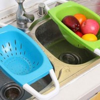 Keranjang Tempat Buah, Sayur 2 in 1 / Wash and Put Basket 2in1