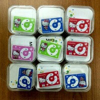 MP3 Player Hello Kitty Jepit / Mini Mp3 Player Hello Kitty Jepit