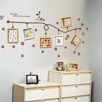 Wallsticker wall stiker wallpaper dinding tembok frame foto - KHM065