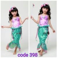 Baju Ariel Putri Duyung / Mermaid Import Bagus Dropship 398