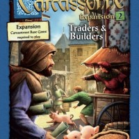 Carcassonne expansion 2 Traders and Builders Board Game