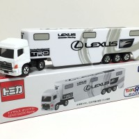 Tomica Long LEXUS GAZOO Racing Transporter Toyota Toys R Us Exclusive