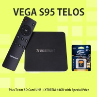 harga TRONSMART Vega S95 Telos Android TV Box + TEAM SD Card XTREEM UHS-1 64 Tokopedia.com