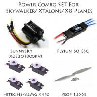POWER COMBO SET 1 FOR SKYWALKER/XTALON/X8 UAV PLANE