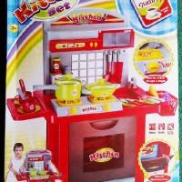Jual kitchen set besar - mainan anak edukasi kitchen set -alat dapur mainan Murah