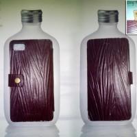 Leather Flip Case Sarung Hp Blackberry Bb Z10 Kulit Sapi Asli (Leaf)