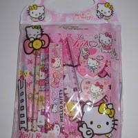 Jual Alat Tulis Hello Kitty Stationary Set Hello Kitty Murah Lengkap AT2 Murah
