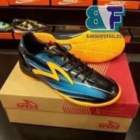 Sepatu Futsal SPECS ACCELERATOR LAZER IN BLACK ROCK BLUE Original