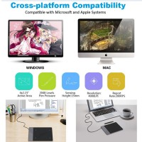USB Drawing Board Tablet Pen PC Laptop Graphic Design Paint Animation