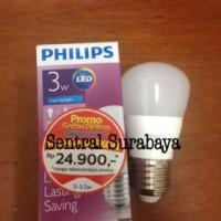 Jual Lampu LED bulb Philips 3w 3 watt 3 w Putih Garansi 2th ledbulb Murah