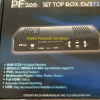 Set Top Box DVB-T2 Receiver / Dekoder TV Digital PF 209