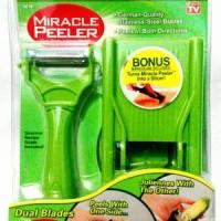Jual Miracle Peeler 2 in 1- Parutan Multi Fungsi Dual Blade Murah