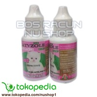 Obat Cacing Kucing CATYZOLE DROP Pet Stuff Petshop -Nu Shop