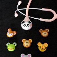 harga Stetoskop Abn Toonscope /stetoskop Karekter Animal/kepala Boneka Pink Tokopedia.com