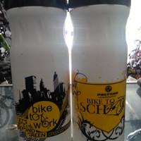 (Dijual Murah) Botol Minum Sepeda Drinking Bottle Polygon Bike To Work
