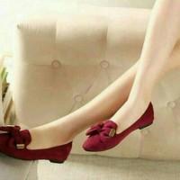 harga sepatu kerja cute RS04 Tokopedia.com
