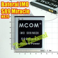 Baterai IMO S89 Miracle N820