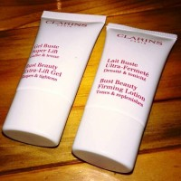 Clarins Bust Care Extra Lift Gel & Firming Lotion 15ml Sample Set