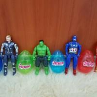 Mainan Telur Avengers Surprise Egg Set 4 Pcs