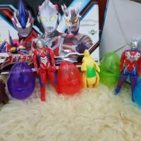 Mainan Telur Ultraman Surprise Egg Set 4 Pcs