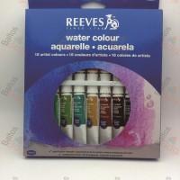 REEVES Watercolor Paint Set 18 Pcs / Cat WaterColour Merk Reeves