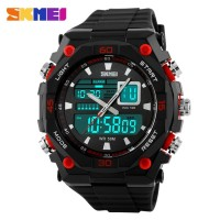 Jam SKMEI S-Shock Men Sport LED Watch Water Resistant 50m - AD1029