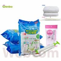 Wenbo Kantong Penyimpan Pakaian Vakum / Vacuum Plastic Storage
