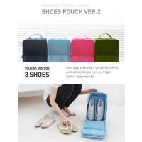 Tas Sepatu Sandal Fitness Olahraga Travelling Shoes Pouch Organizer