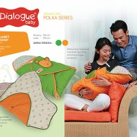 Selimut Dialogue - Baby Blanket POLKA