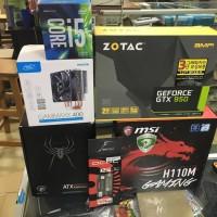 Paket PC i5 Skylake 8GB DDR4 GTX 950 2GB Mini PC Mega Performance