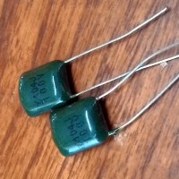 10 pcs Capacitor - Kondensator - Kapasitor - Milar 100nF
