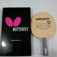 Kayu / Blade Pingpong / Tenis Meja Butterfly Primorac Carbon