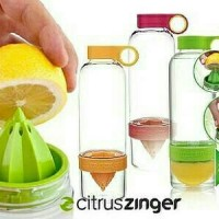 CITRUS JUICER/Citrus Zinger Water Bottle Twist Infused Botol Minum BPA