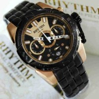 Rhythm S1414 S05 Black Rose Gold Oiginal