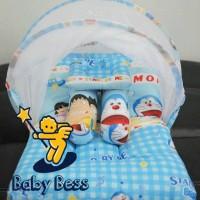 Jual kasur bayi lipat kelambu bess doraemon/ matras bayi /playmate Murah