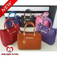 Furla Webbing Luxury Turnlock Handbags 3in1 Bag (Tas Wanita / Cewek