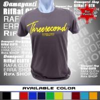Kaos murah 3SECOND / Tshirt distro/Baju murah