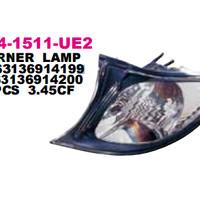 FRONT CORNER LAMP BMW 3 SERIES E46 4D 2001 (BLACK)