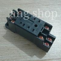 Socket Relay Soket Omron 8 Pin Kaki MY2 PYF08A