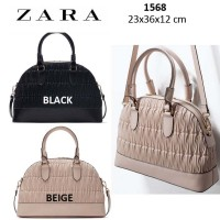 Zara Original Quilted City Bag