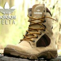 sepatu delta force versi adidas safety ujung besi tracking