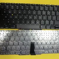 Keyboard Laptop Apple MacBook Air A1370 A1465 2011-2012 Hitam