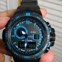 G Shock Protrek Prw 6000 Lis Biru Black Hitam Gshock Jam Tangan Casio