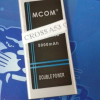 baterai cross/evercoss A53C double power merk mcom