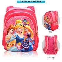 Tas Anak / Tas Sekolah TK SD SB 803 Princess Pink